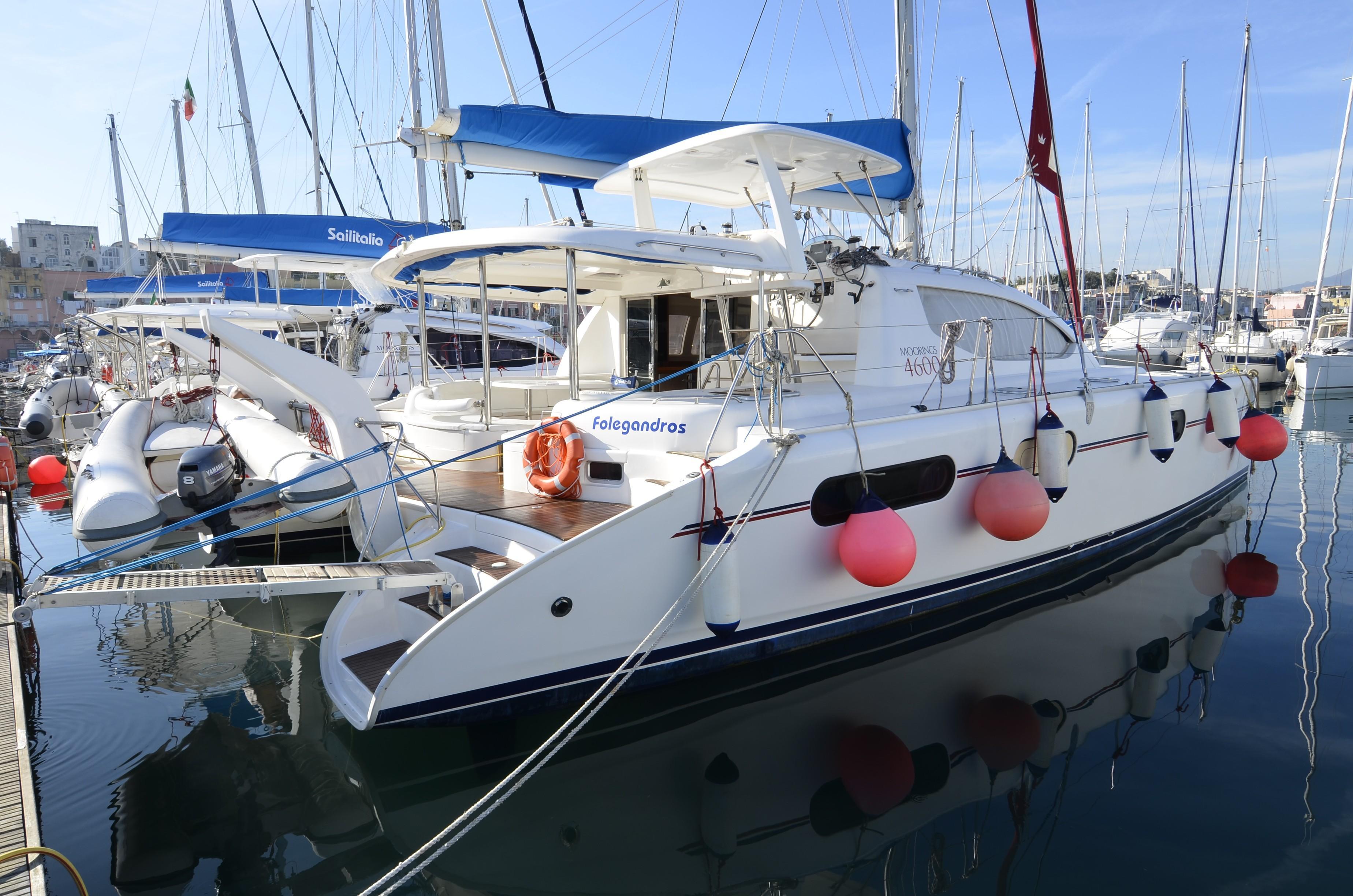Leopard 46 Sailing Catamaran for sale | The Moorings Yacht ...